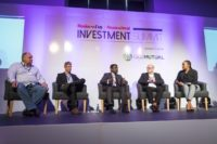 Photo from Business Day Financial Mail Investment Summit in 2017