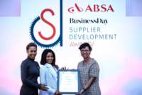 Photo from ABSA Business Day Supplier Development Awards in 2018