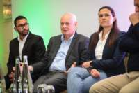 Photo from Business Day Dialogues in association with Dimension Data in Cape Town