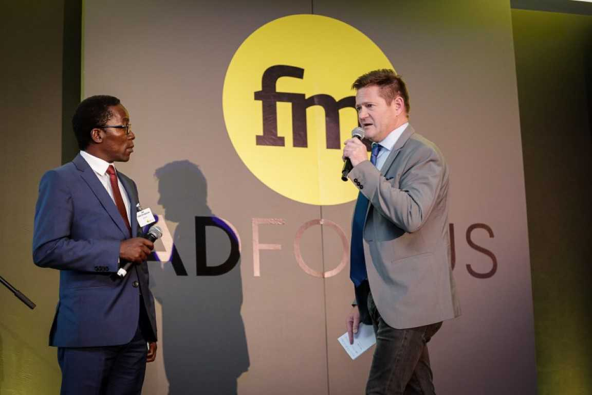 Photo from Financial Mail AdFocus Awards in 2016