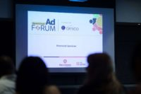 Photo from Financial Mail AdForum looking at TV Commercials in Financial Services Sector