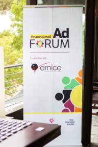Photo from Financial Mail AdForum in association with Ornico looking at TV Commercials in the Automotive Sector