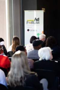 Photo from Financial Mail AdForum in association with Ornico looking at TV Commercials in the Telecommunications Sector