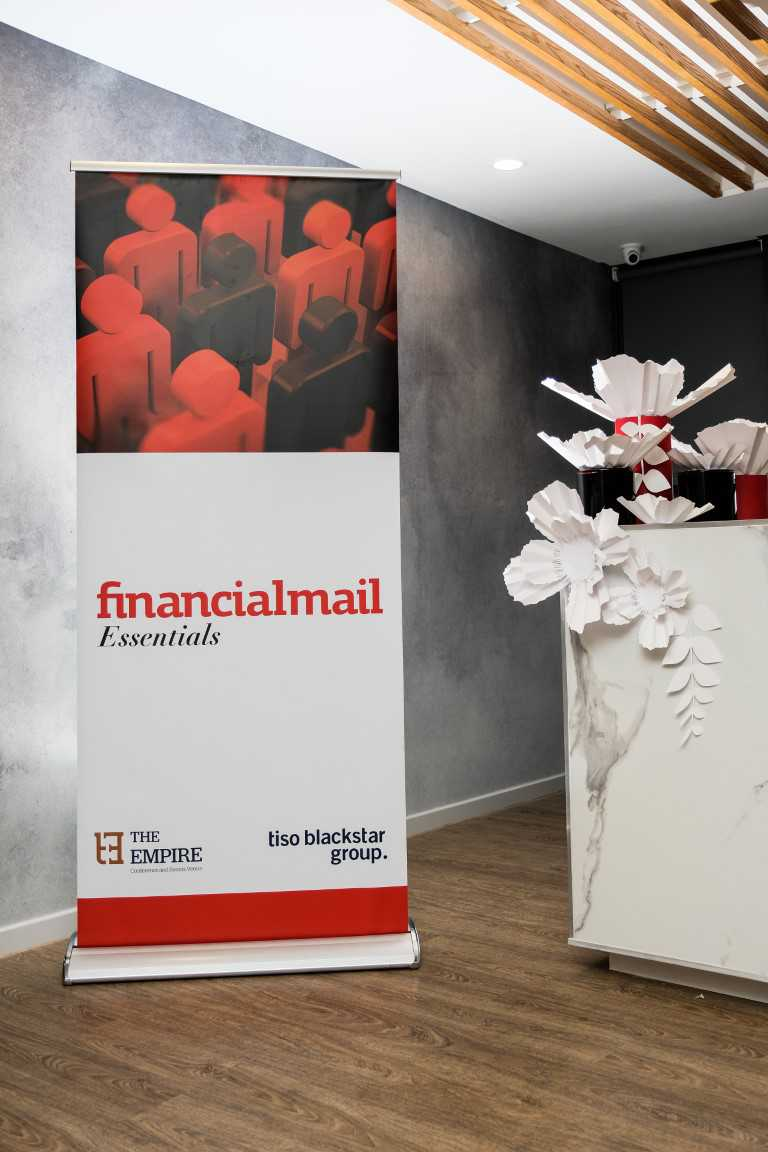 Photo from Financial Mail Essentials in 2017