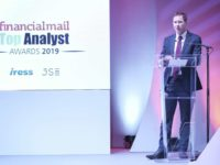 Photo from 2019 Financial Mail Top Analyst Awards