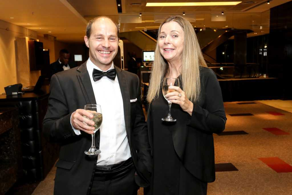 Photo from Sunday Times Top 100 Companies Awards in 2017